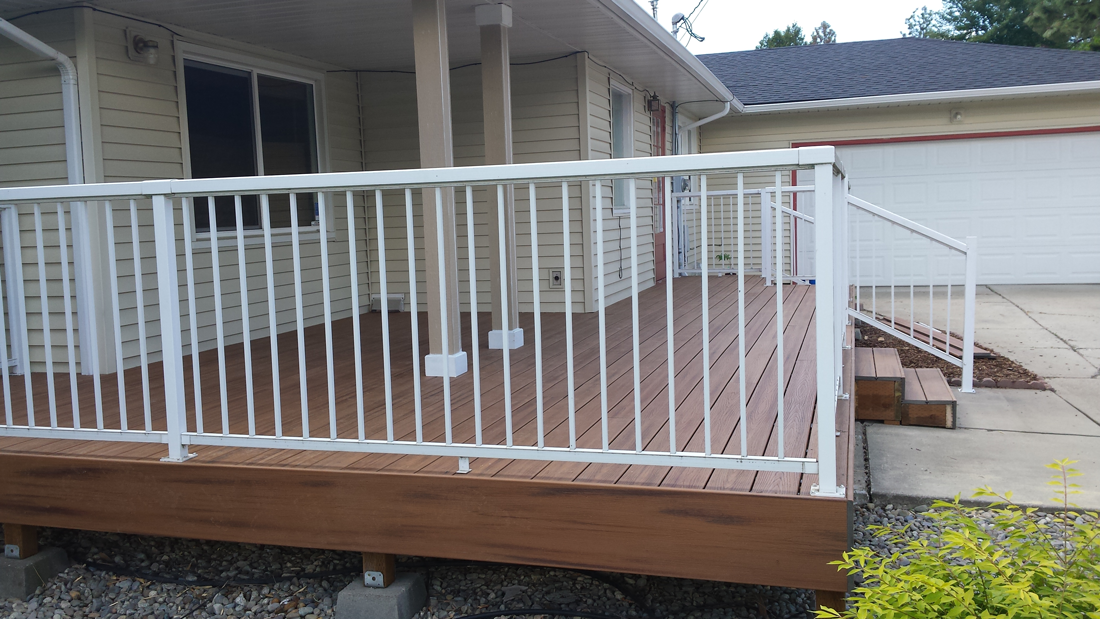 Deck-after-composite